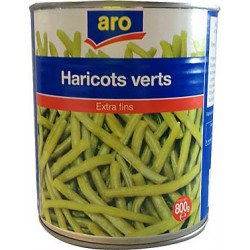 haricots verts extra...