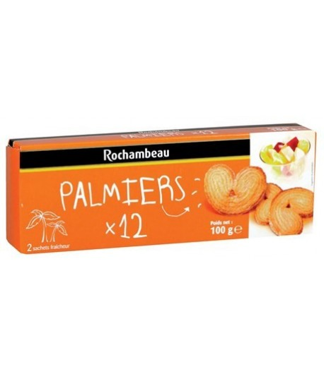 Biscuits palmiers-Rochambeau-100G